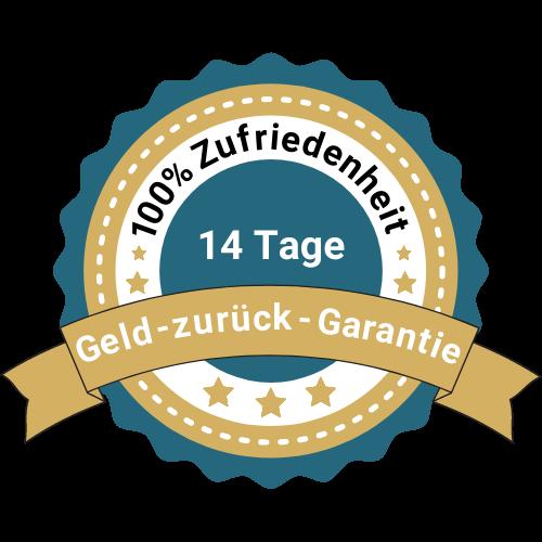 100 % Zufriedenheitssiegel des Frankfurter Rings