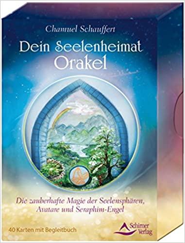 Chamuel Schauffert Dein Seelenheimat Orakel Die Zauberhafte Magie Der Seelensphären, Avatare Und Seraphim Engel 40 Karten Mit Begleitbuch