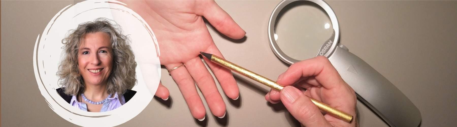 Hüppi Gisela Handanalyse Körperarbeit Seeleplan Fingerprint Fingerabdruck