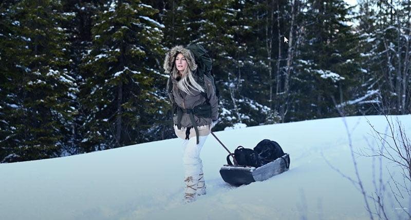 Jonna Jinton Winter Norden Schweden Dokumentation Polarnacht Mitternachtssonne Polarlichter Film