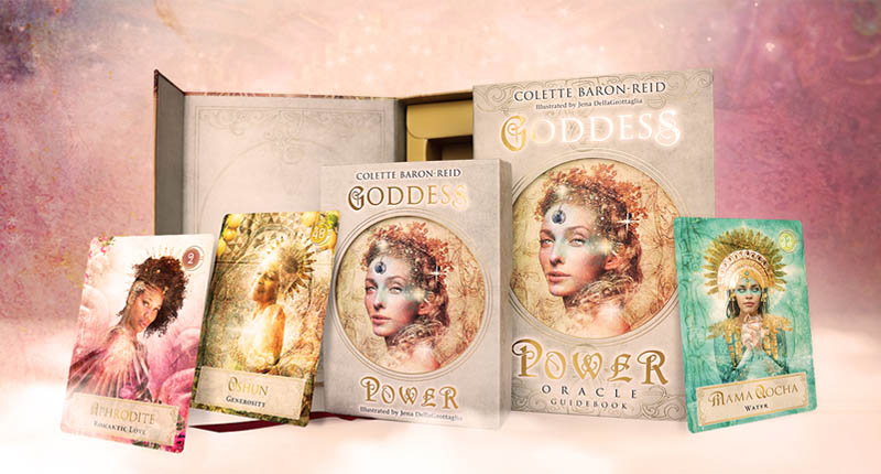 Colette Baron-Reid Kartendeck Kraft der Göttinnen