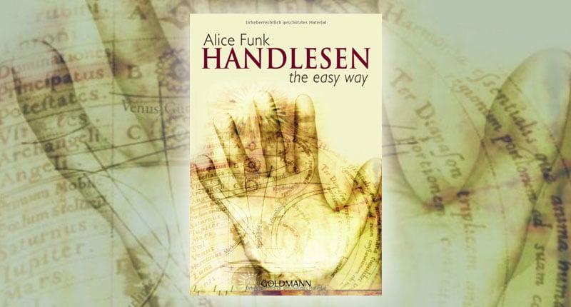 Alice Funk Gisela Hüppi Handlesen the easy way